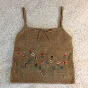 VINTAGE Ralph Lauren wool tank top